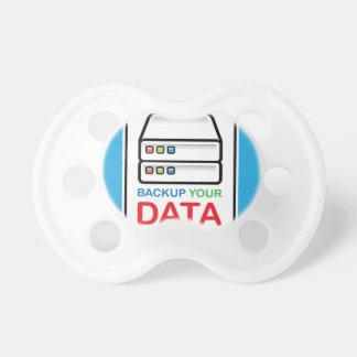Reserv som dina data undertecknar med hårda drev napp