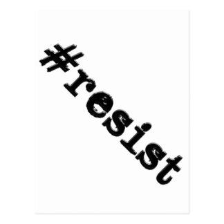 #resist vykort