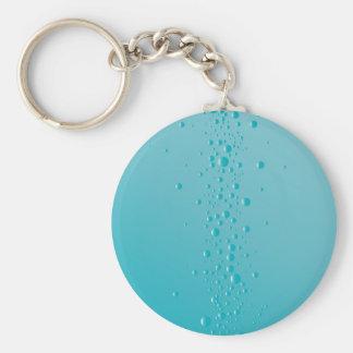 Resningen bubblar rund nyckelring
