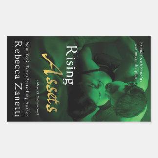 Resningtillgångar av Rebecca Zanetti Rektangulärt Klistermärke