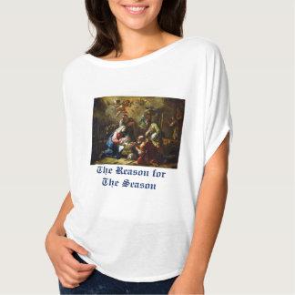 Resonera för för julbibeln för säsong II versen T Shirts