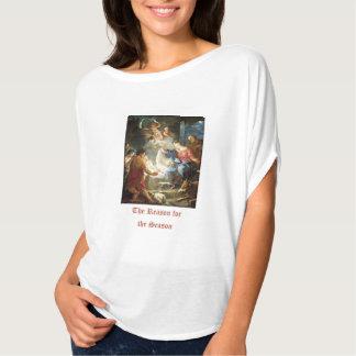 Resonera för versen för säsongjulbibeln t shirts