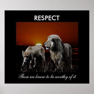 Respekt Affisch