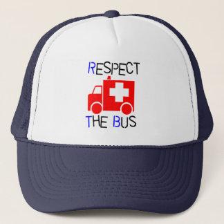 Respekt bussen truckerkeps