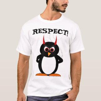 Respekt den onda Penguin™ skjortan T Shirt
