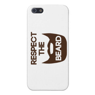 Respekt skägget iPhone 5 hud