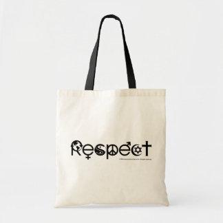 Respektmorjord - återvinnan räddade planeten budget tygkasse