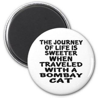 Rest med den Bombay katten Magnet