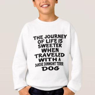 Rest med ett Dandie Dinmont Terrierliv Partne T-shirt