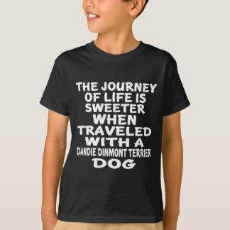 Rest med ett Dandie Dinmont Terrierliv Partne T Shirts