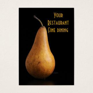 Restaurang äta middag för bra! visitkort