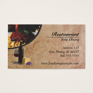 Restaurang Visitkort