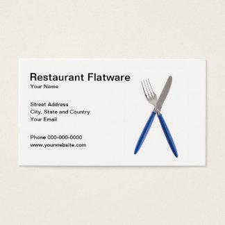 RestaurangFlatwarevisitkort Visitkort