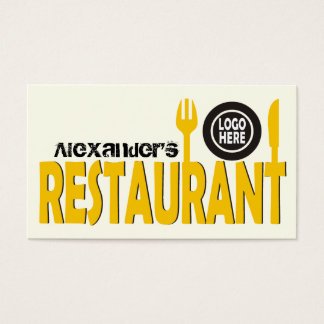 Restaurangtextbestick pläterar svart elfenben för visitkort