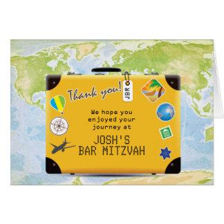 Resväskavärlden reser den bat mitzvah Themed puben OBS Kort