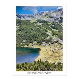 Retezat berg vykort