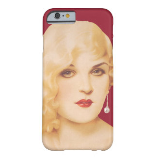Retro 30-talpinup barely there iPhone 6 skal