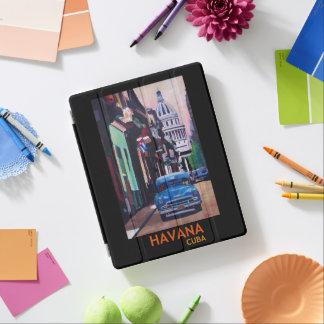 Retro affisch för Havanna Kuba iPad Skydd