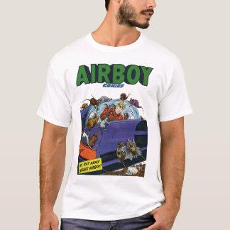 Retro Airboy tecknader T Shirts