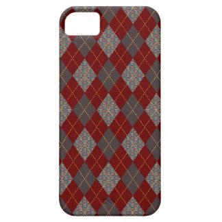 Retro Argyle moderiktigt medeltida tryck iPhone 5 Fodraler