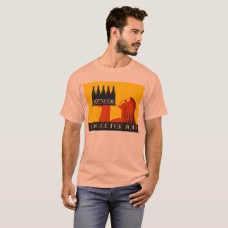 retro art déco för stil Flaska-eau Tshirts