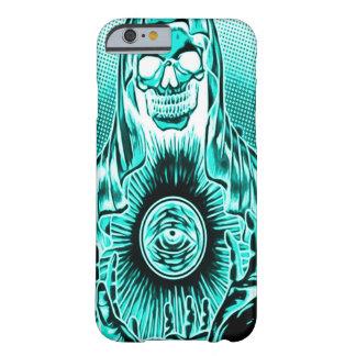 Retro Astral död för Skully skalle Barely There iPhone 6 Skal