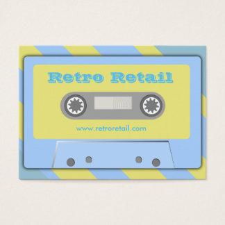 Retro återförsäljnings- visitkortar visitkort