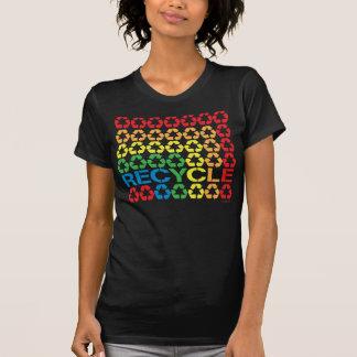 Retro återvinnaskjorta t-shirt