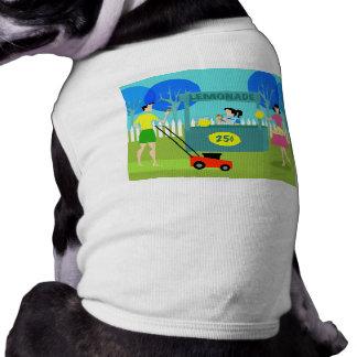 Retro barns hund tröja för Lemonadestativ