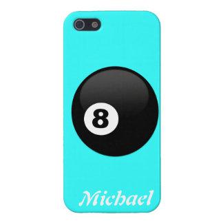Retro boll åtta tränga någon det beställnings- Iph iPhone 5 Fodraler