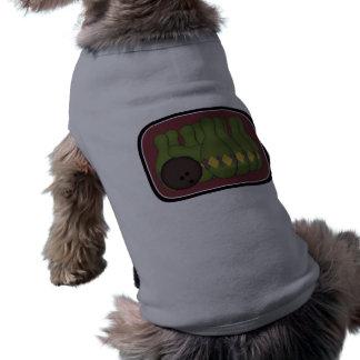 Retro bowling hund tshirt