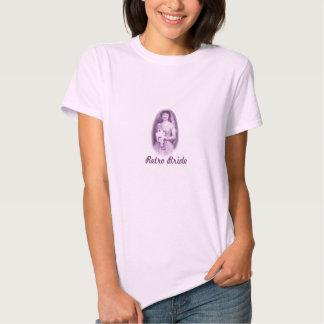 Retro brudskjorta t shirts