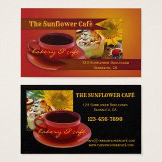 Retro Café och bagerivisitkort Visitkort