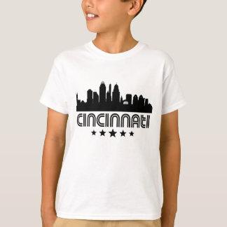 Retro Cincinnati horisont T Shirt