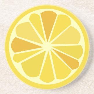Retro citron underlägg sandsten