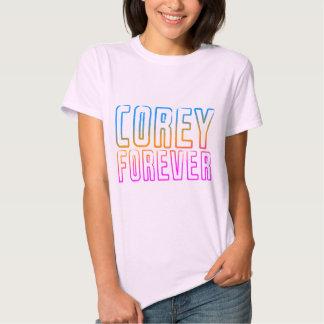 Retro COREY FÖR EVIGT för COREY-TIGER80-tal T-shirt
