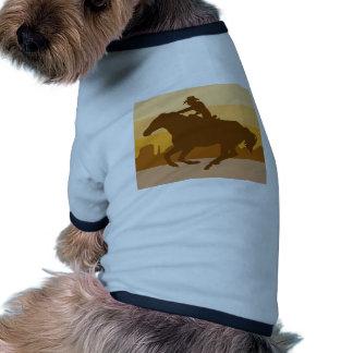 Retro Cowboy Hund Kläder
