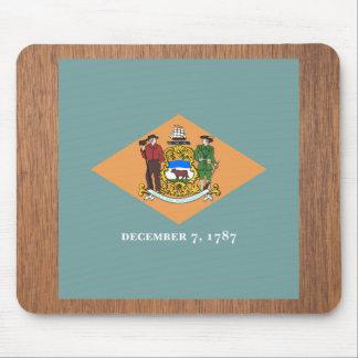 Retro Delaware flagga Musmatta