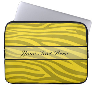 Retro djur zebra tryck 12 datorskydd