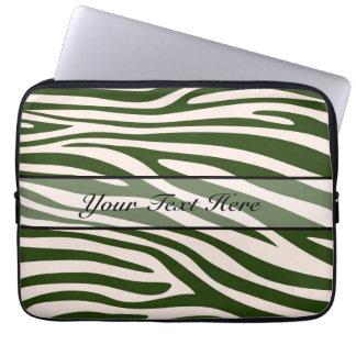 Retro djur zebra tryck 15 datorfodral