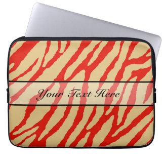 Retro djur zebra tryck 16 datorfodral