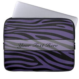 Retro djur zebra tryck 4 laptop datorfodral