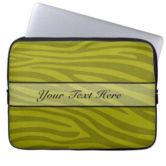 Retro djur zebra tryck datorskydds fodral