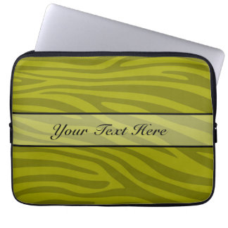 Retro djur zebra tryck laptopskydd