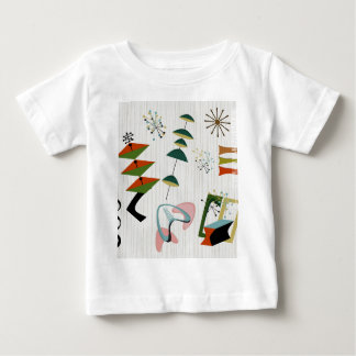 Retro Eames-Era atom- inspirerat Tee Shirts