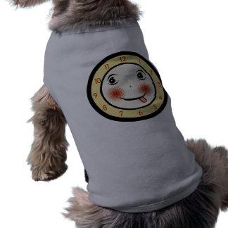 Retro fånigt tar tid på ansikte kläder för husdjur