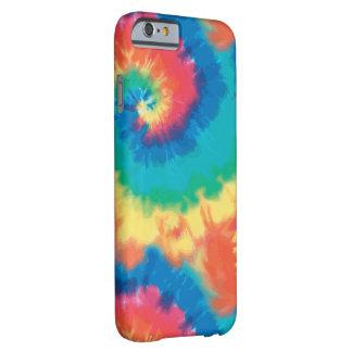 Retro färgrik Tiefärg Barely There iPhone 6 Skal