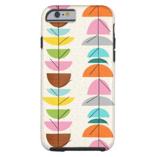 Retro färgrikt bygga bo fodral för iPhone 6 Tough iPhone 6 Case