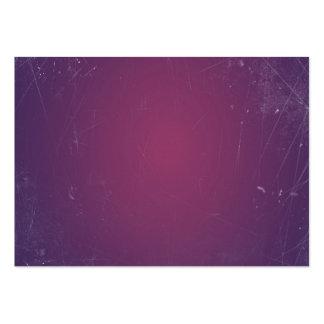 Retro fast färg för vintagelilor Plum.Elegant Visit Kort