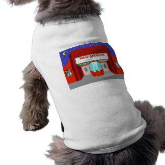 Retro filmbiografhund tröja långärmad hundtöja